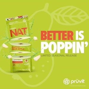 5- Pack of Pruvit's Poppin Pear 🍐 Apple 🍎